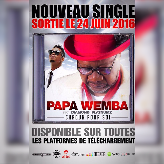 Download Papa Wemba Ft. Diamond Platnumz - Chacun Pour Soi mp3