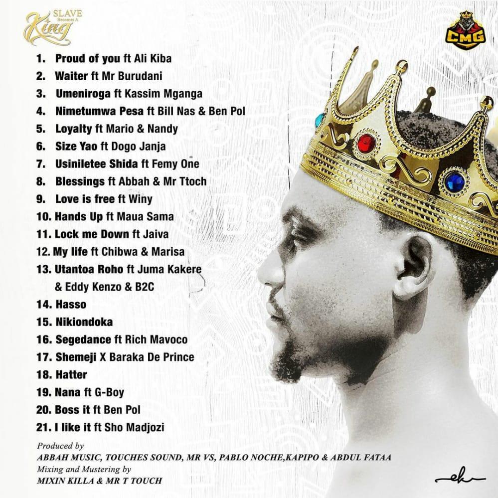 DOWNLOAD ALBUM | Darassa – Slave Becomes A King