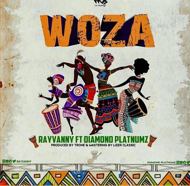 Download audio Rayvanny Ft Diamond Platnumz Woza