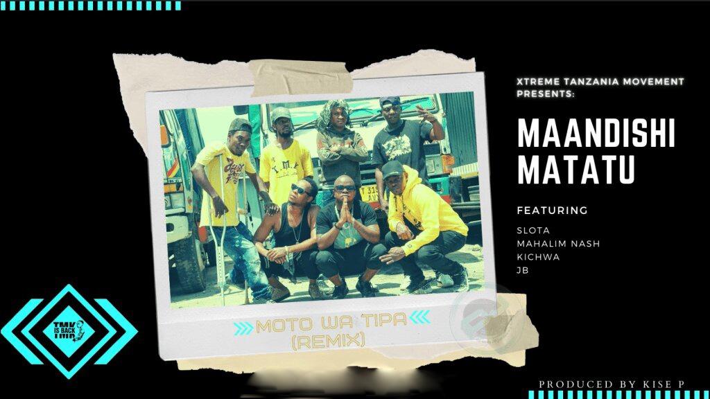 TMK Maandishi Matatu Ft. Slota, Kichwa, JB, Mahalim Nash – Moto wa tipa Remix | Download mp3