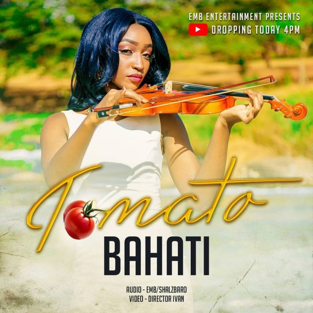 Bahati from Kenya has brought us a new song titled as Tomato | Download Mp3.