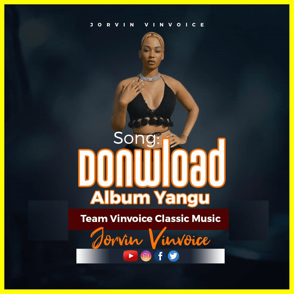 Jorvin Voice - Download Album Yangu | Download