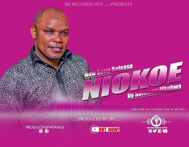 Solomon Mkubwa – Niokoe | Download Mp3 Audio