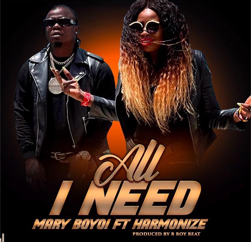 Download | Mary Boyoi Ft. Harmonize – All I Need | Mp3 Audio